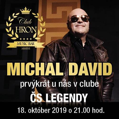 ČS LEGENDY * MICHAL DAVID