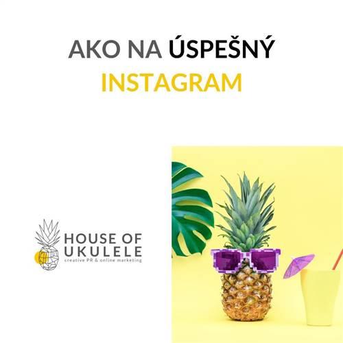 Ako na úspešný Instagram - workshop