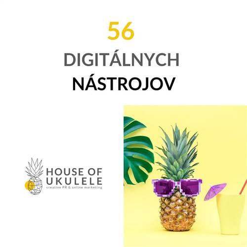 56 digitálnych nástrojov - workshop