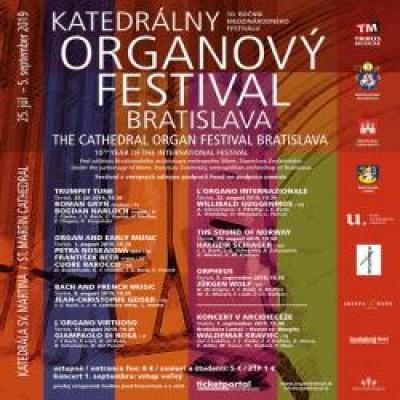 KATEDRÁLNY ORGANOVÝ FESTIVAL BRATISLAVA