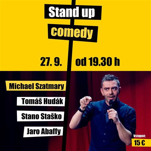 Stand up comedy 27.9. 2019