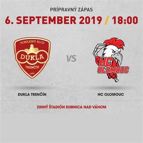 Dukla Trenčín - HC Olomouc