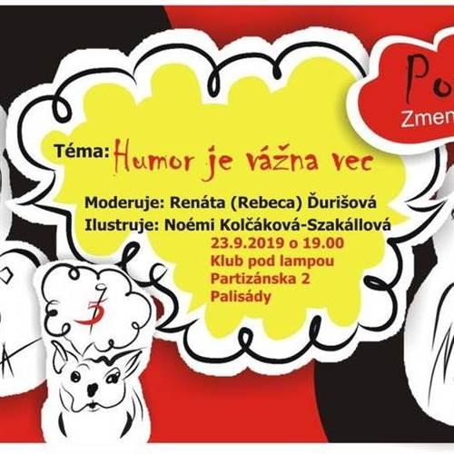 Ilustrovaná talkshow Piatecezdeviate: Humor je vážna vec