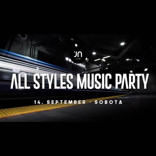 All Styles Music party / Jantar club