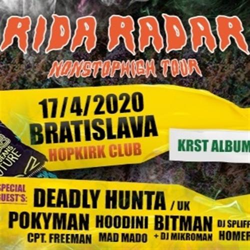 RIDA RADAR / KRST ALBUMU NONSTOPHIGH + GUEST'S