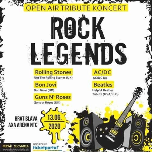 ROCK LEGENDS open-air tribute koncert