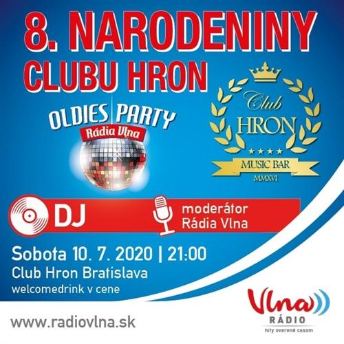 8. NARODENINY CLUBU HRON